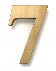 7 seven birthday anniversary celebration