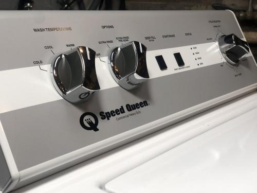 Speed queen toploader mechanical controls